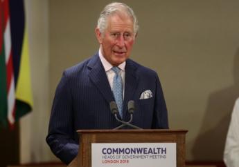 """Charles """"est un fier partisan du Commonwealth depuis plus de quatre décennies"""", a déclaré Mme May en fin d'après-midi. """"Il est juste qu'il continue un jour l'oeuvre de sa mère"""". (crédit photo : AFP)"""