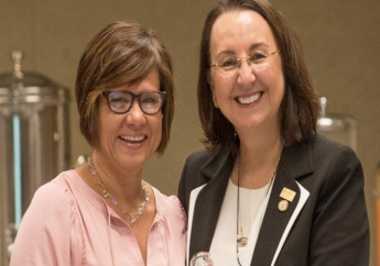 Patricia Affonso-Dass (left) takes over the leadership of CHTA from Karolin Troubetzkoy. Photo Credit: Margot Jordan