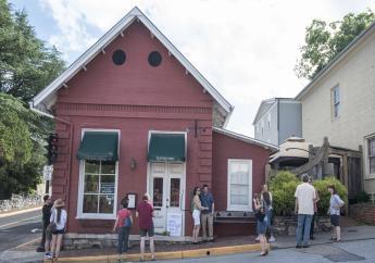 (Image: AP: The Red Hen restaurant in Lexington, Virginia)