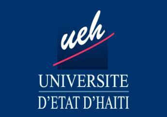 Logo : Université d'État d'Haïti (UEH)  Crédit : Site UEH