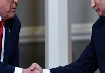 Les présidents américain 4 Trump et russe Vladimir Poutine le 16 juillet à Helsinki