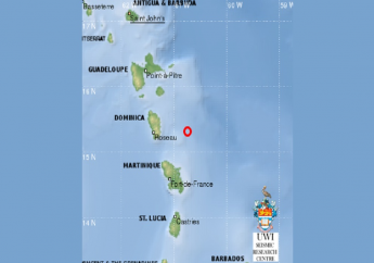 Photo courtesy the University of the West Indies (UWI) Seismic Research Centre.