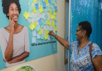 Clients shared their praise and feedback with Sagicor on a comment board.