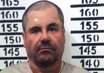 """Photo de Joaquin Archivaldo Guzman Loera, alias """"El Chapo"""", prise le 8 janvier 2016 après sa capture, à la suite de son évasion d'une prison mexicaine en juillet 2015"""