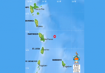 Photo courtesy the UWI Seismic Research Centre.