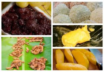 St. Lucian treats. Have you tried any?