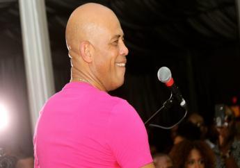 Le chanteur Sweet Micky./Photo:Jounal Nou.