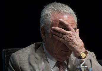 Photo: Mauro Pimental Agence France-Presse Michel Temer, qui a quitté le pouvoir à la fin 2018 après près de deux ans et demi de mandat, fait l'objet de plusieurs enquêtes pour corruption.