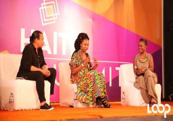La fondatrice de Haïti Tech Summit, Christine Ntim/ Photo: Luckenson Jean