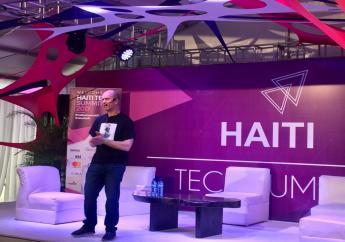 Ben Horowitz (investisseur de Facebook et Twitter) à l'édition 2017 de Haiti Tech Summit./Photo: Loop Haiti-archives.