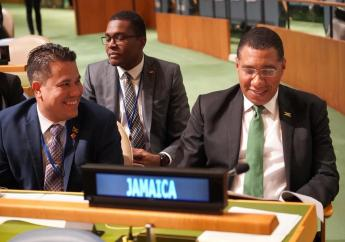 Jamaica's Prime Minister, the Honourable Andrew Holness at the UNGA