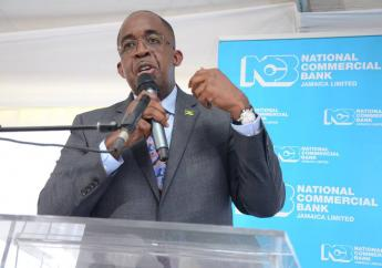 NCB Financial Group Limited managing director Patrick Hylton addresses journalists at an investor briefing in Kingston. (File photo)
