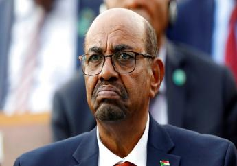 In this July 9, 2018, file photo, Sudan's President Omar al-Bashir attends a ceremony for Turkey's President Recep Tayyip Erdogan, at the Presidential Palace in Ankara, Turkey. (AP Photo/Burhan Ozbilici, File)