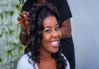 Lady with relaxed hair (FILE)
