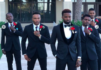Konshens on his wedding day (Source: IG)