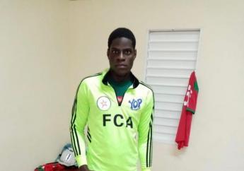 Mondy Prunier, un jeune footballeur haïtien de 21 qui brille en Guadeloupe avec Red Star Football Club. Interview