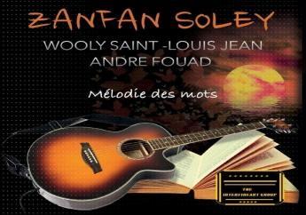 Couverture du disque «Mélodie des mots» dont la sortie prochaine est programmée au début du mois d'avril.