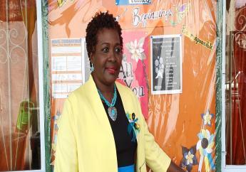 President of the Principals Association, Valerie St Helen-Henry