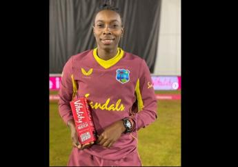 West Indies fast bowler Shamilia Connell ended with career-best figures of three for 14 to take home thePlayer-of-the-Matchaward in the fifth and final T20I match against England, in Derby, on Wednesday, September 30, 2020.