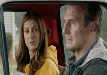 """This image released by Open Road Films shows Kate Walsh, left, and Liam Neeson in a scene from """"Honest Thief."""" Photo:Open Road Films via AP"""