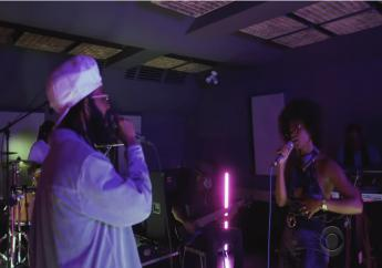 Protoje and Lila Ike performed on The Late Show #PlayAtHome series this afternoon.