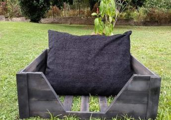 A pet bed from Paw Nation.