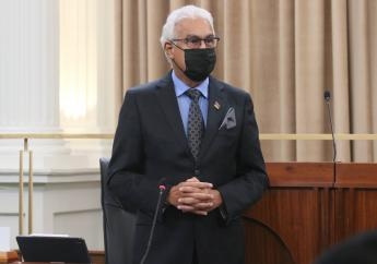 Photo: Health Minister Terrence Deyalsingh, via Facebook, the Office of the Parliament of Trinidad and Tobago.