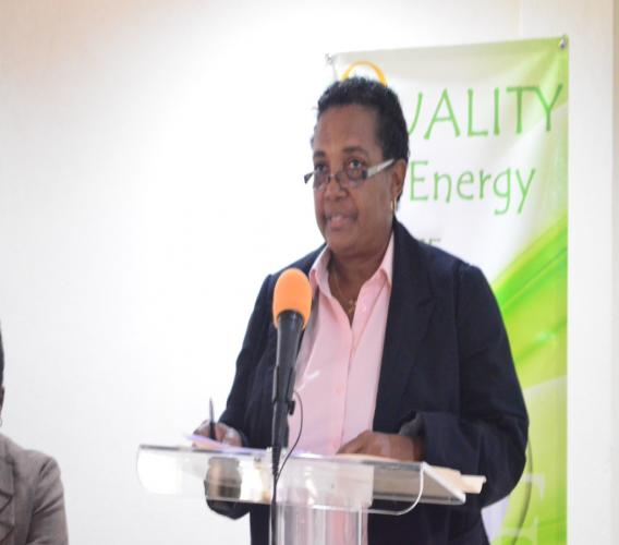 Acting Director of the Barbados National Standards Institution (BNSI), Anthea Ishmael.
