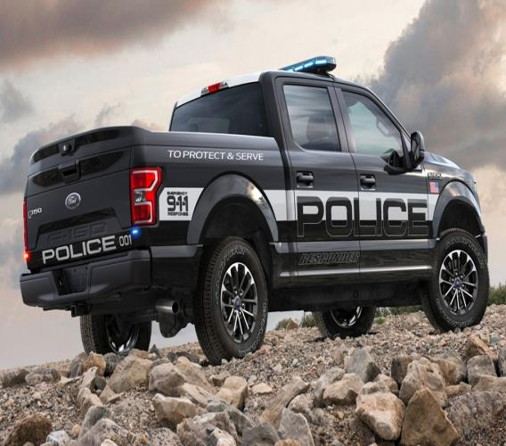 De Ford F-150 Police Responder - Ready for Duty. Foto: Ford/Business Insider