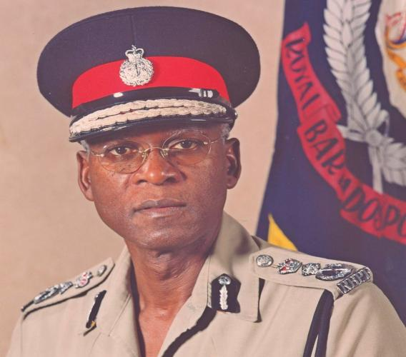 Former Commissioner of Police of the Royal Barbados Police Force,MrDarwin Dottin.