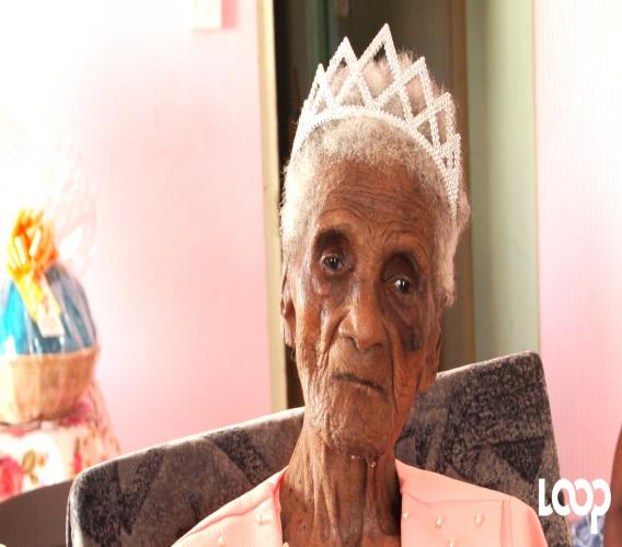 Super centenarian, Millicent Yearwood, celebrated her 110th birthday on July 20, 2017.