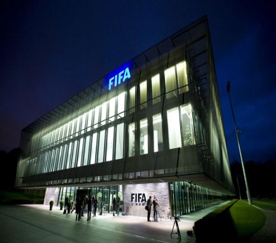 Le siège de la FIFA. /Credit photo: dzfoot