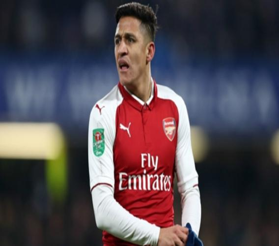 Arsenal forward Alexis Sanchez.