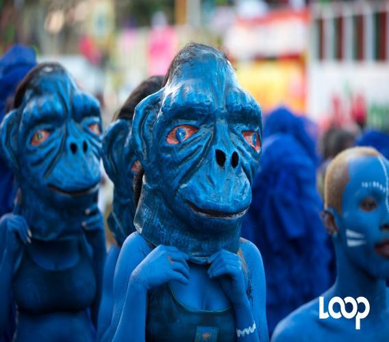 L'une des plus belles décorations du carnaval. /Estailove St-Val/LoopHaïti