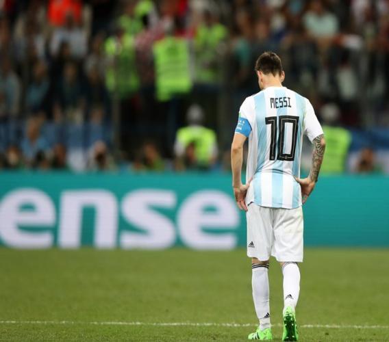 Leonel Messi, capitaine de la sélection argentine de football