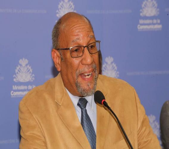 Dr Alix Lassègue, Conseiller technique du  MSPP / Photo: Ministère de la communication