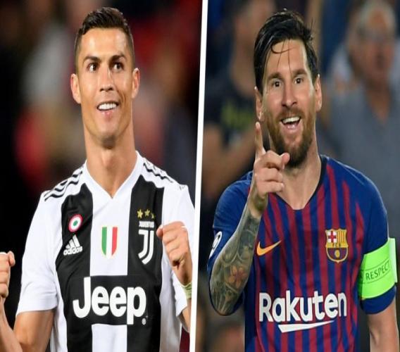 « J'aimerais qu'il vienne jouer en Italie », Ronaldo lance un défi à Messi.
