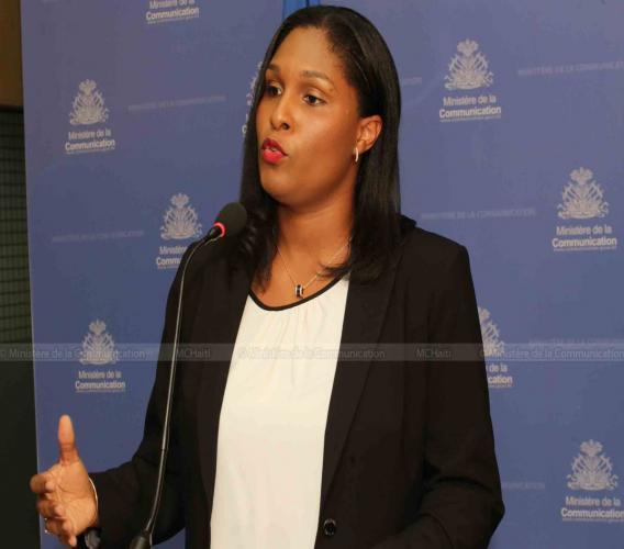 Tessa Jacques, Directrice du Centre de Facilitation des Investissements./Photo: ministère Communication