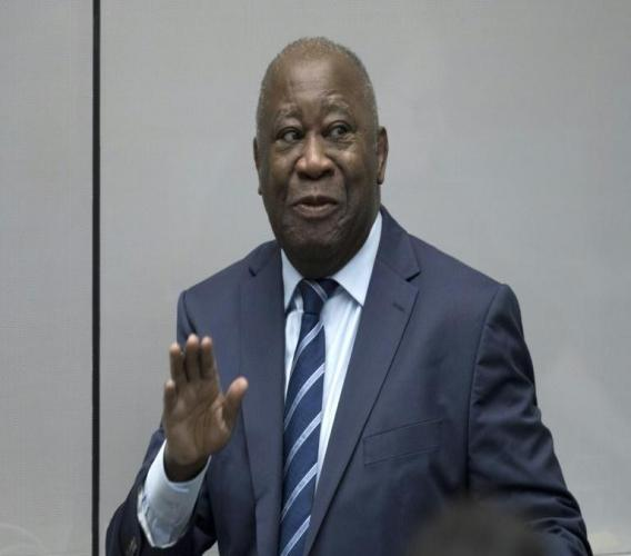 L'ancien président ivoirien Gbagbo à la Cour pénale internationale (CPI) le 15 janvier 2019 à La Haye