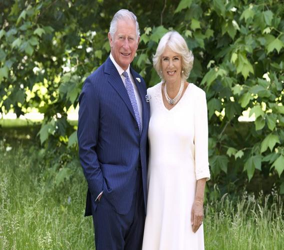 Their Royal Highnesses, The Prince of Wales and The Duchess of Cornwall. (Photo courtesy Hugo Burnand)
