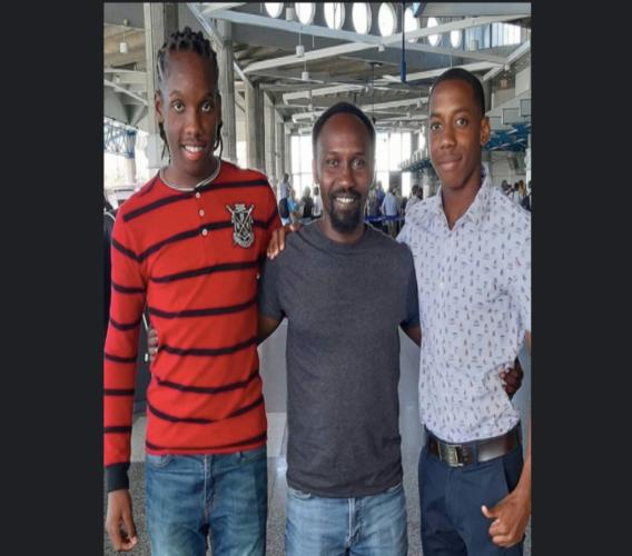 "Roshon ""Speedy"" Gittens and forward Abiola Grant off to impress staff at Slovakian outfit FC Dac 1904 Dunajska Streda"