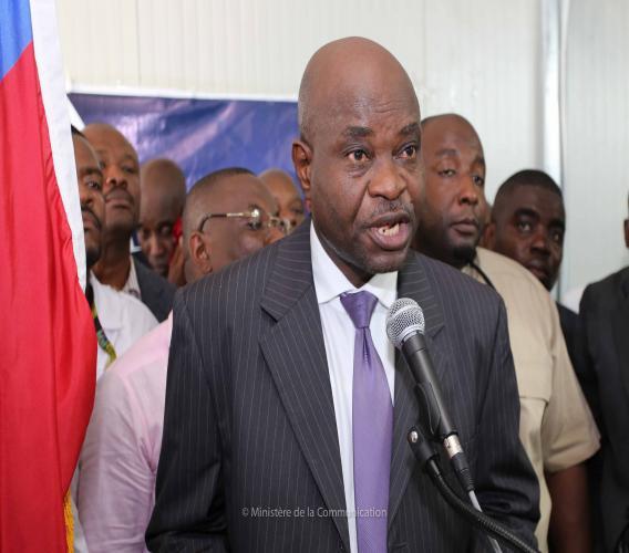 Le directeur général du Ministère de l'intérieur Fednel Monchéry / Photo: Ministère de la Communication