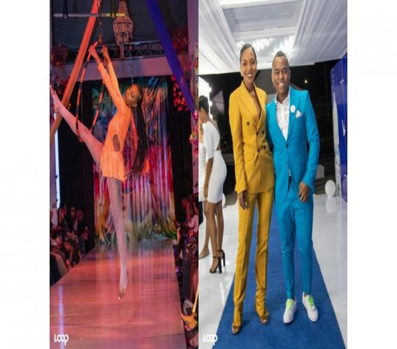 LEFT: The show went on. RIGHT: Media personality Terri-Karelle Reid and bestie Garfene Grandison, Nestlé Jamaica Health and Wellness Foundation General Manager.