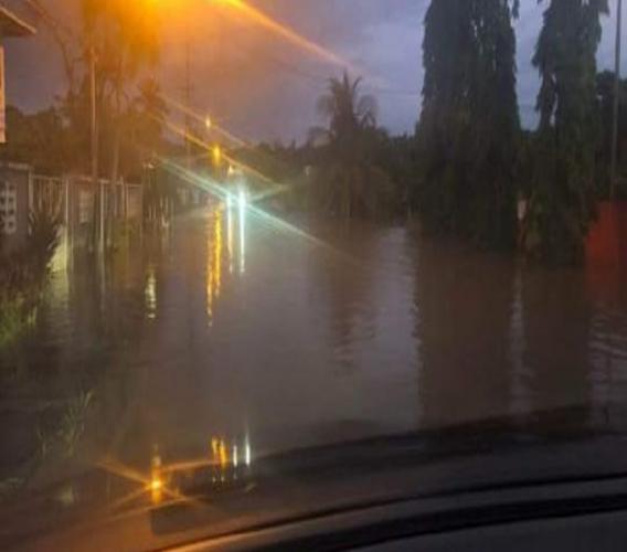 Photo of Mafeking Main Road courtesy social media.