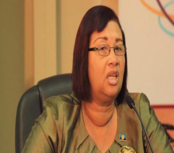 Executive Director of the Caribbean Public Health Agency, Joy St John.