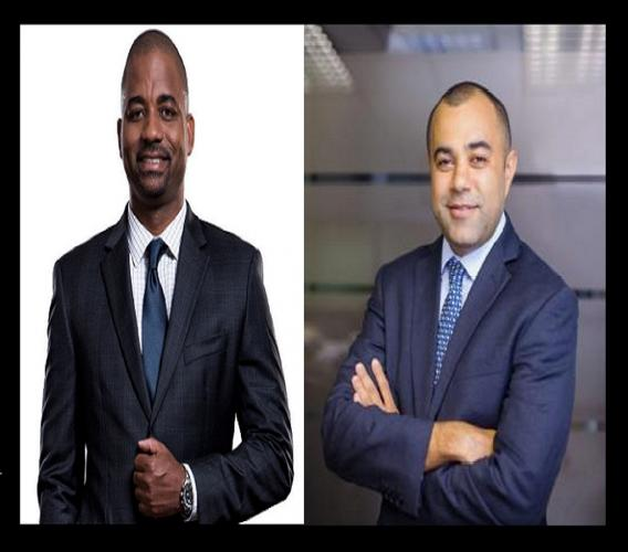 Steven  Gooden, CEO of NCB Capital Markets  (left) and Eppley's Managing Director Nicholas A. Scott.