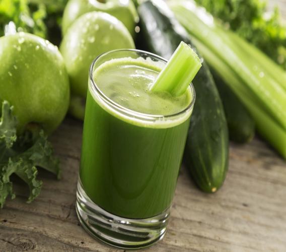 istock photo of kale juice.