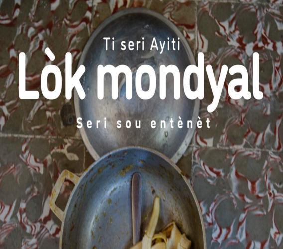 """Le flyer annonçant la série sur internet """"Lock mondyal"""", initié par Eliezer Guérismé et Samuel Suffren. Page Facebook : EG"""