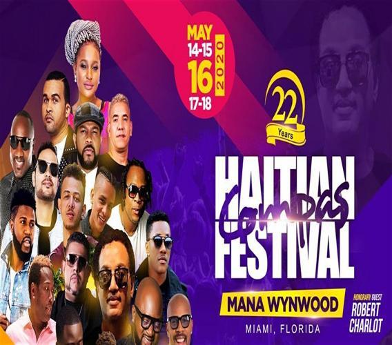 Line-up de la 22e édition du Haïtian Compas Festival