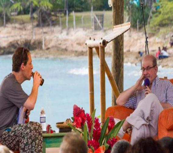 Stills from a previous Calabash event, at the home of Calabash International Literary Festival, Jakes Treasure Beach. (Photos: via jakeshotel.com)